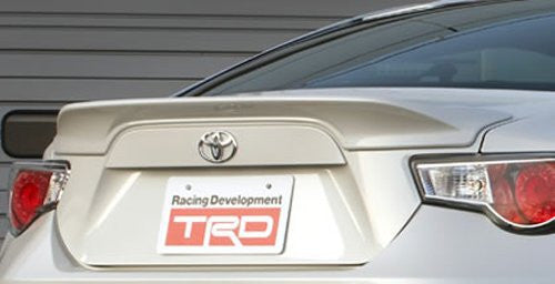 TRD Rear Trunk Spoiler Non Painted For 86 (ZN6)