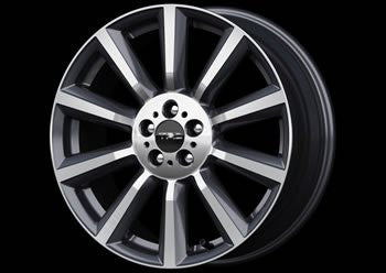 TRD 18 inch Aluminum Wheel 'TF6' (1 Piece) For 86 (ZN6)