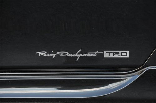 TRD E- type Sticker (Large) Silver For 86 (ZN6)