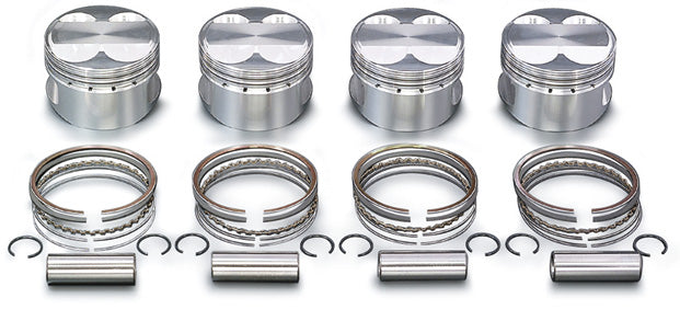 TODA RACING High Comp Forged Piston KIT  For LEVIN TRUENO 4AG 4valve 13010-4AG-001