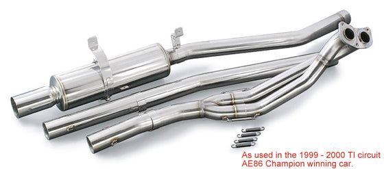 TODA RACING EX Down Pipe and Muffler SUS  For LEVIN TRUENO 4AG N1 18000-860-0N1