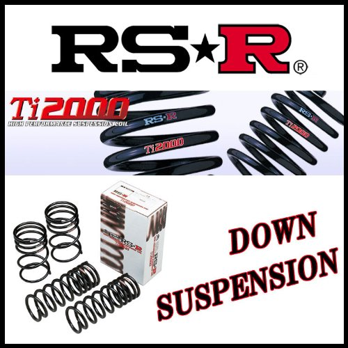RS-R SUSPENSION TI2000 DOWN FRONT FOR MAZDA MS-9 HD5S FR HDES FR  M080TDF