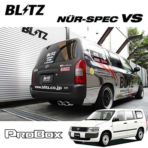 BLITZ NUR-SPEC VSR EXHAUST  For TOYOTA PROBOX NCP51V 1NZ-FE 62520V