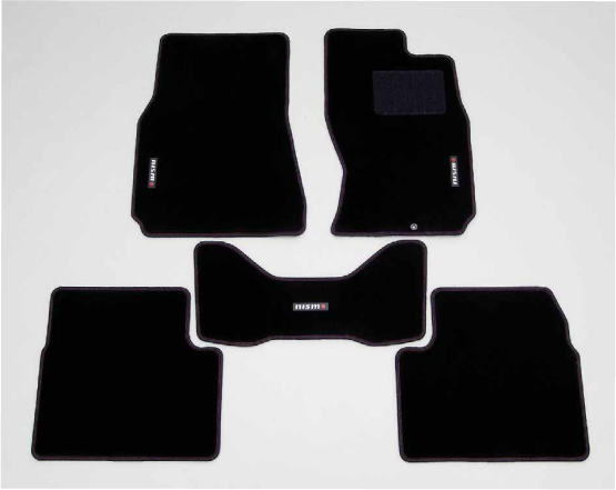 NISMO Floor Mats  For Skyline GT-R BNR32  74902-RNR25