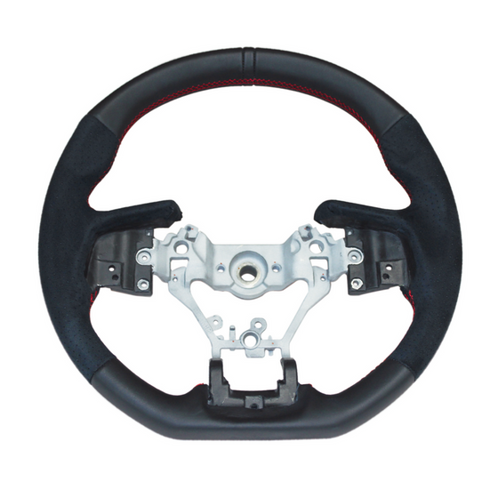 DAMD STEERING WHEEL For LEGACY OUTBACK (BS/BN) FORESTER (SJ) D〜 XV (GP) E〜 SS362-RX Nappa Leather × Ultra Suede