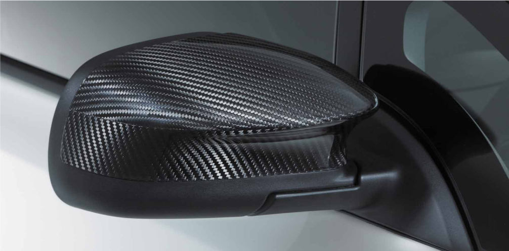 NISMO Carbon Door Mirror Cover  For Leaf ZE0  9637S-RNZ00