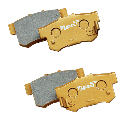 MUGEN BRAKE PAD -Type Touring- [REAR]  For STEPWGN RP1 RP2 RP3 RP4 43022-XLS-K000