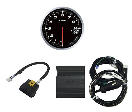 Defi ADVANCE CAN Driver & ADVANCE BF 60mm Tachometer (White Model Only) Set  DF15701