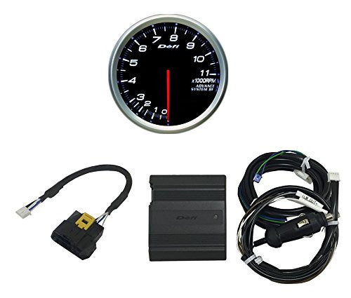 Defi ADVANCE CAN Driver & ADVANCE BF 80mm Tachometer (White Model Only) Set  DF15702