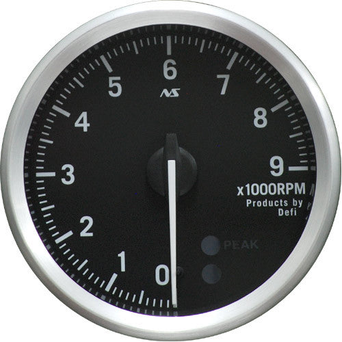 Defi Gauge Meter Advance RS Tachometer (0 to 9000RPM) 80mm   DF14201