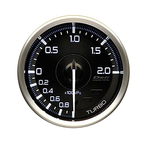 Defi Gauge Meter Advance A1 Turbo Boost Meter (-100kPa to +200kPa)  60mm  DF14801