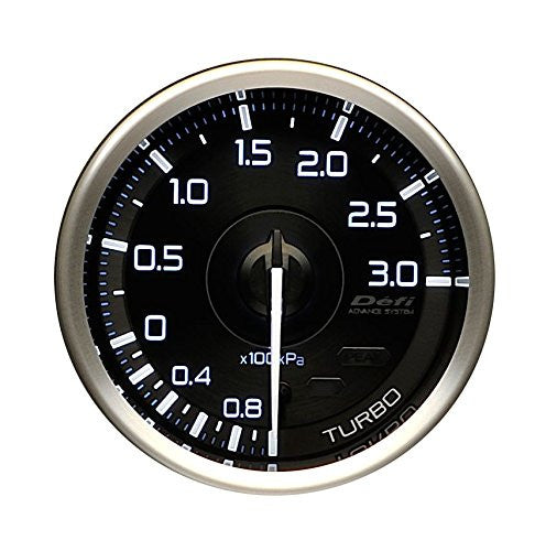 Defi Gauge Meter Advance A1 Turbo Boost Meter (-100kPa to +300kPa)  60mm  DF14901