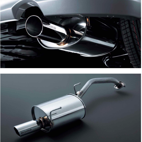 NISMO Weldina Stainless  Exhaust/Muffler For NISSAN March K12 2WD CR12DE 20100-RNK21