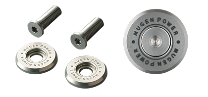 MUGEN NUMBER PLATE BOLTS  For N-WGN JH1 JH2 75700-XG8-K0S0