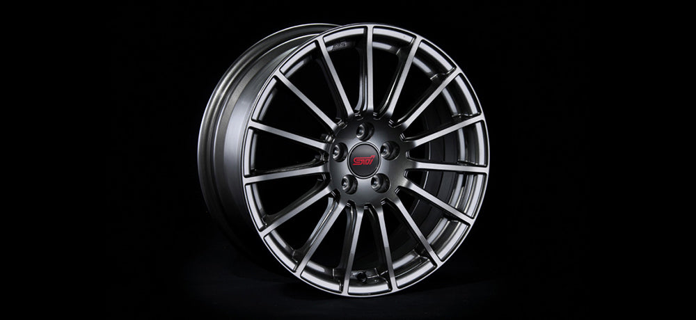 STI WHEEL 17inch (GUN METALLIC)  For SUBARU BRZ (ZC) SG217CA010