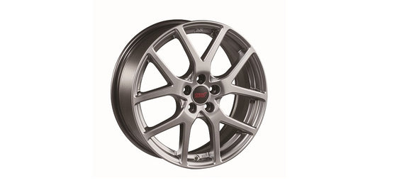 STI ALUMINUM WHEEL 18 inch (Silver) For IMPREZA 4DooR (GK) SG217FL100