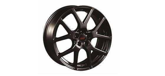 STI ALUMINUM WHEEL 18 inch (BLACK)  For IMPREZA 4DooR (GK) SG217FL120