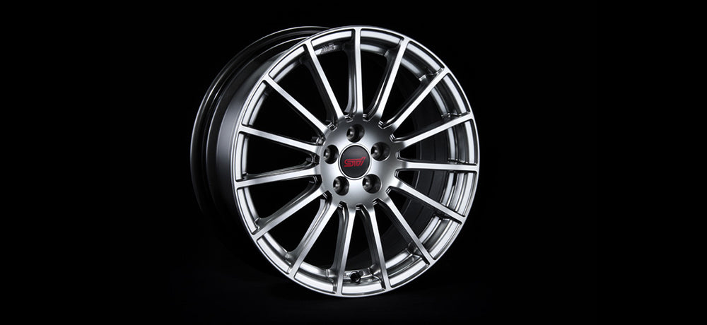 STI WHEEL 18 inch (SILVER) For FORESTER (SJ) SG217SG000