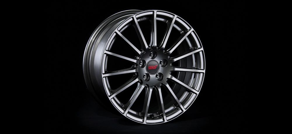 STI WHEEL 18 inch (GUN METALLIC) For FORESTER (SJ) SG217SG010