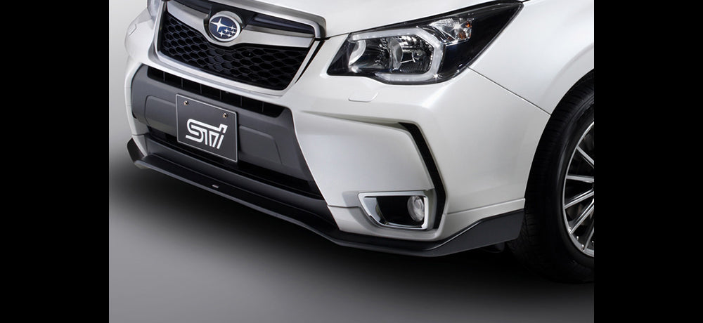 STI FRONT UNDER SPOILER (Crystal White Pearl) For FORESTER (SJ) SG517SG100W6
