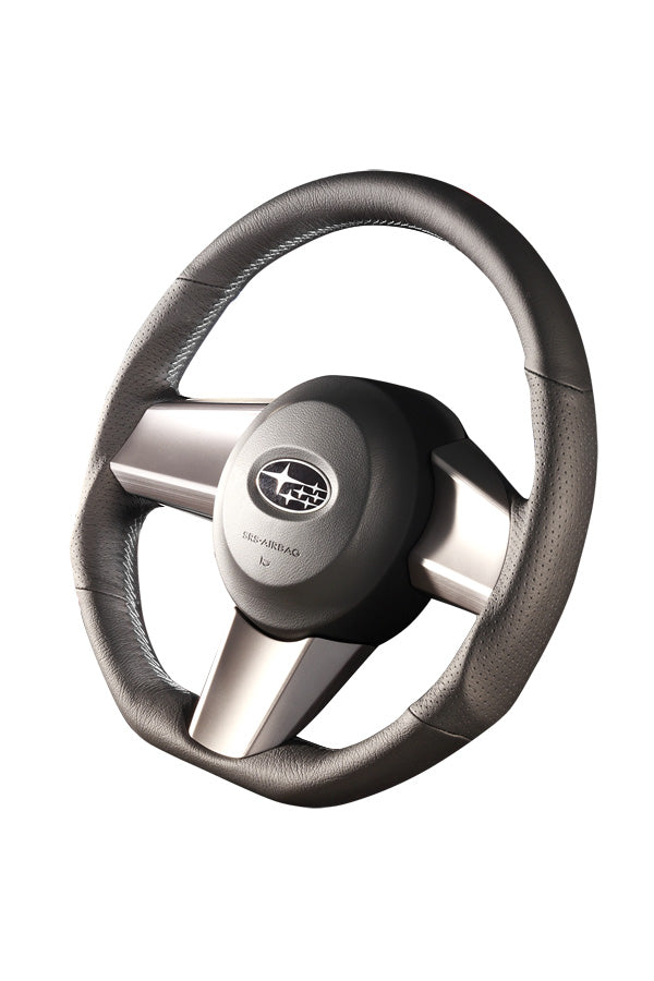 DAMD STEERING WHEEL  For SUBARU LEGACY BM BR (A ~ C) 09/5 ~ 12/4 SS362-D Gray stitching