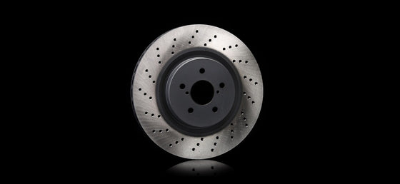 STI  DRILLED DISC R For SUBARU WRX STI (VA) ST26700ST020