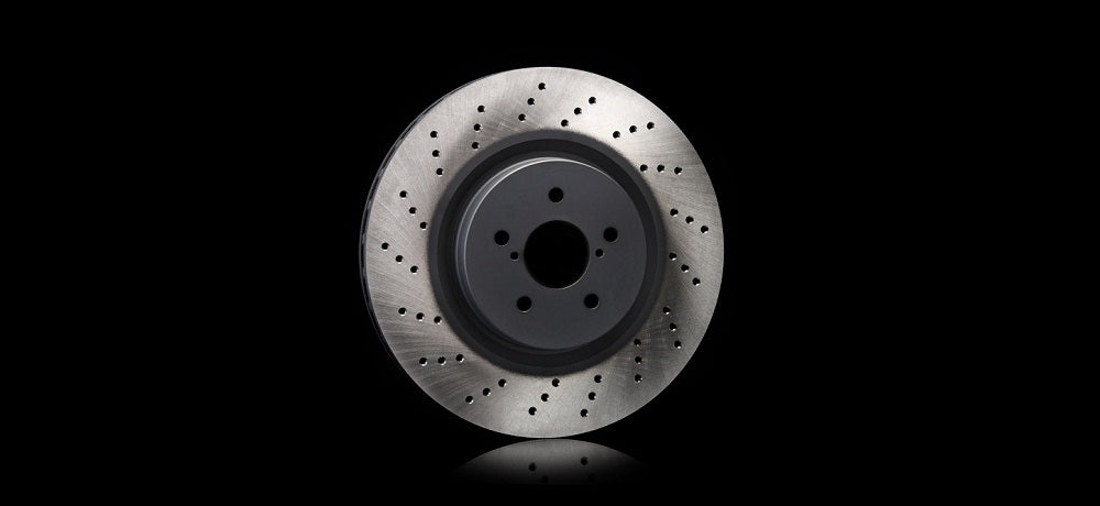 STI DRILLED DISC R For IMPREZA 4DooR (GV) ST26700ST020