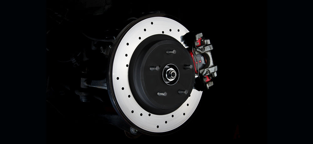 STI DRILLED DISC R  For LEVORG (VM) ST26700VV000