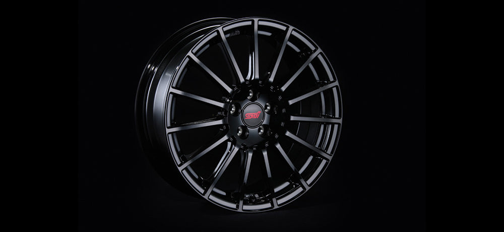 STI WHEEL 17inch (BLACK)  For SUBARU BRZ (ZC) ST28100MF080