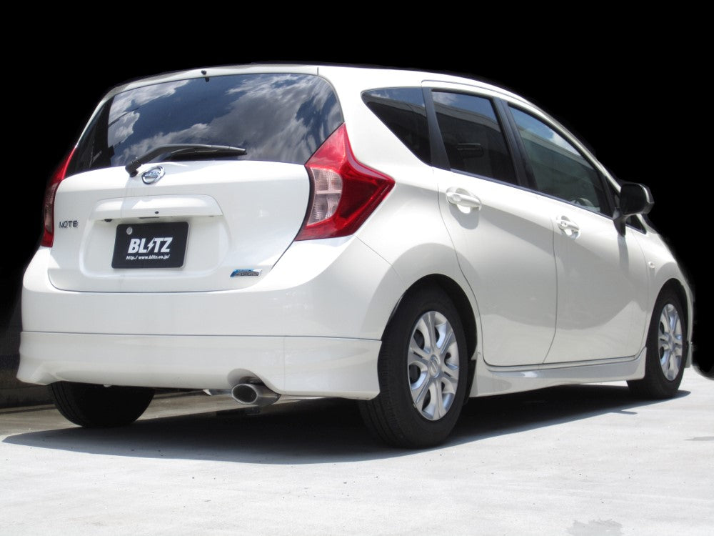 BLITZ NUR-SPEC VS EXHAUST  For NISSAN NOTE NISMO E12 breaks HR16DE 63524