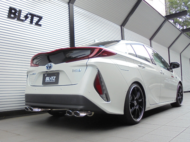 BLITZ NUR-SPEC VS QUAD EXHAUST  For TOYOTA PRIUS PHV ZVW52 2ZR-FXE 63542