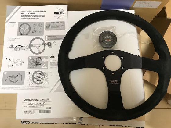 MUGEN STEERING WHEEL RACING3  For MULTIPLE FITTING  53100-XG8-K1S0