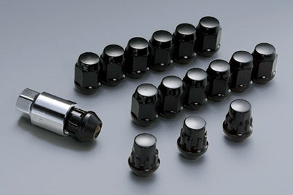 MUGEN Wheel Nut & Lock Set Black  For FIT JAZZ GK3 GK4 GK5 GK6 GP5 GP6 08181-M07-K0S0-BL