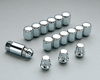 MUGEN Wheel Nut & Lock Set SILVER  For N-WGN JH1 JH2 08181-M07-K0S0-S