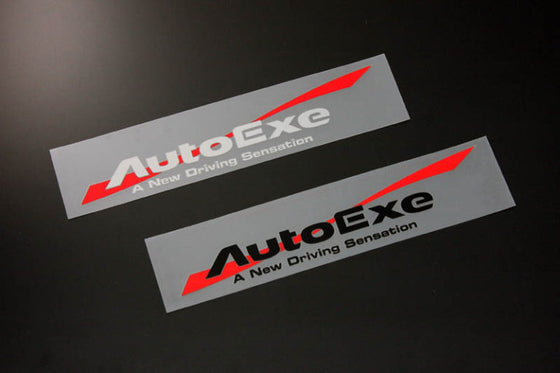 AUTOEXE WIND LOGO STICKER SILVER FOR GOODS  A10000-02