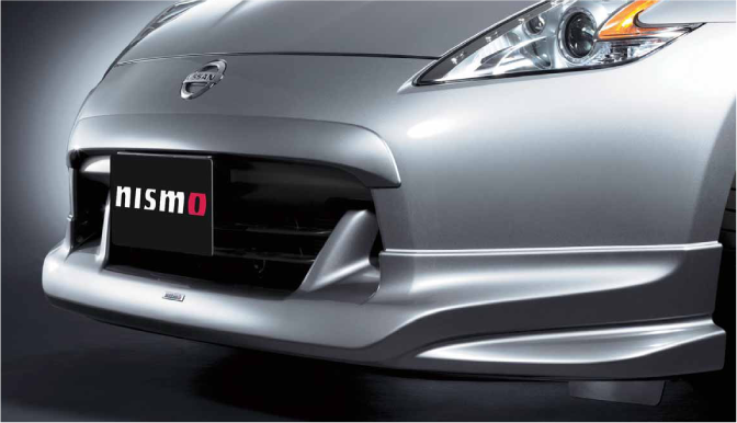 NISMO Unpainted Front Protector  For FairLady Z Z34  62020-RNZ40