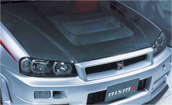 NISMO R-tune Carbon Hood  For Skyline GT-R BNR34  65100-RSR45