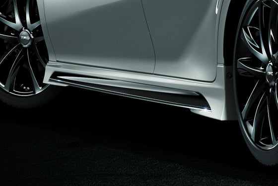 TRD White Pearl / Black Side Skirt  For TOYOTA CAMRY WS 7# MS344-33004-A1