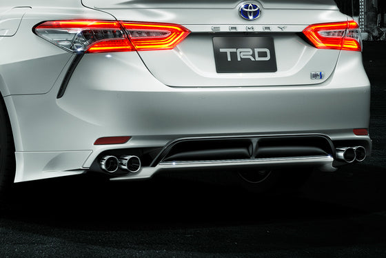 TRD White Pearl / Black Rear Bumper Spoiler  For TOYOTA CAMRY WS 7# MS343-33004-A1