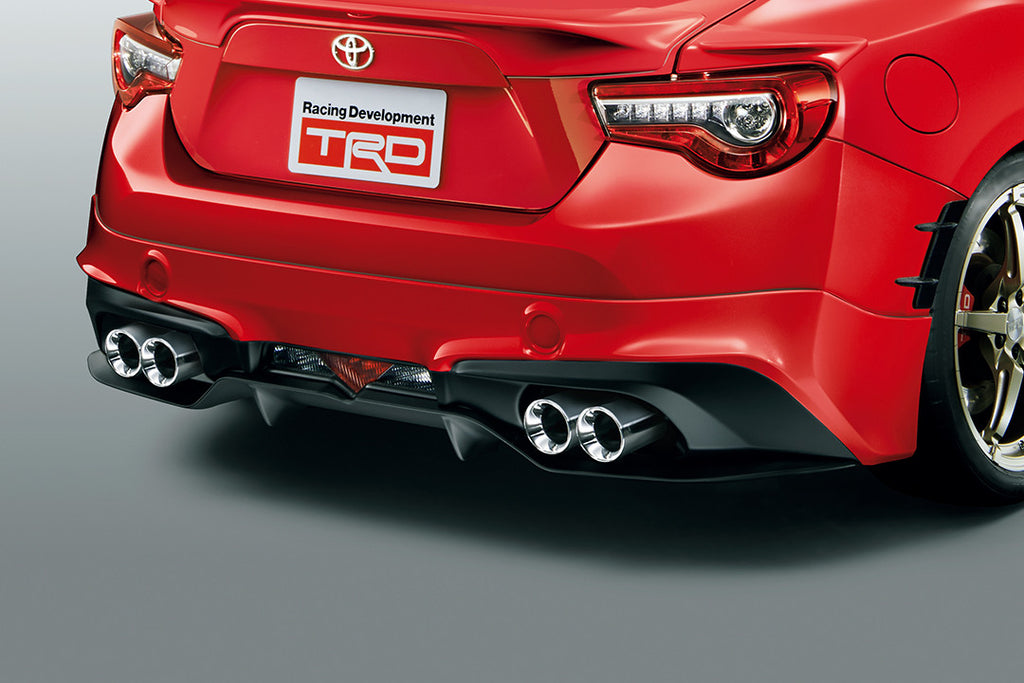 TRD Rear Bumper Spoiler Red (M7Y) For 86 (ZN6)