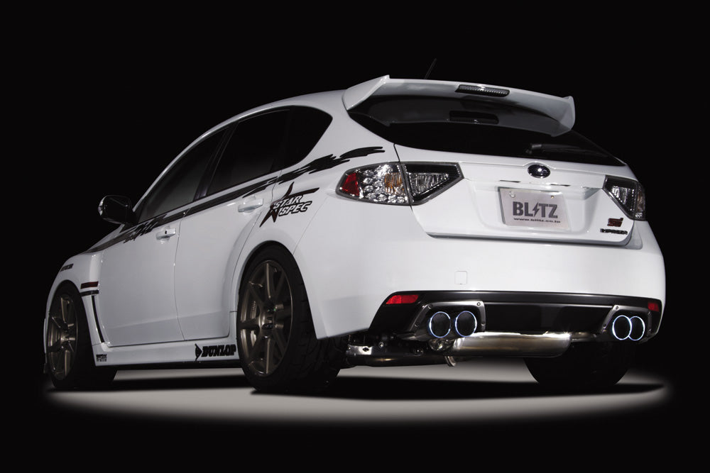 BLITZ NUR-SPEC VSR QUAD EXHAUST  For SUBARU IMPREZA GRB EJ20 62067V
