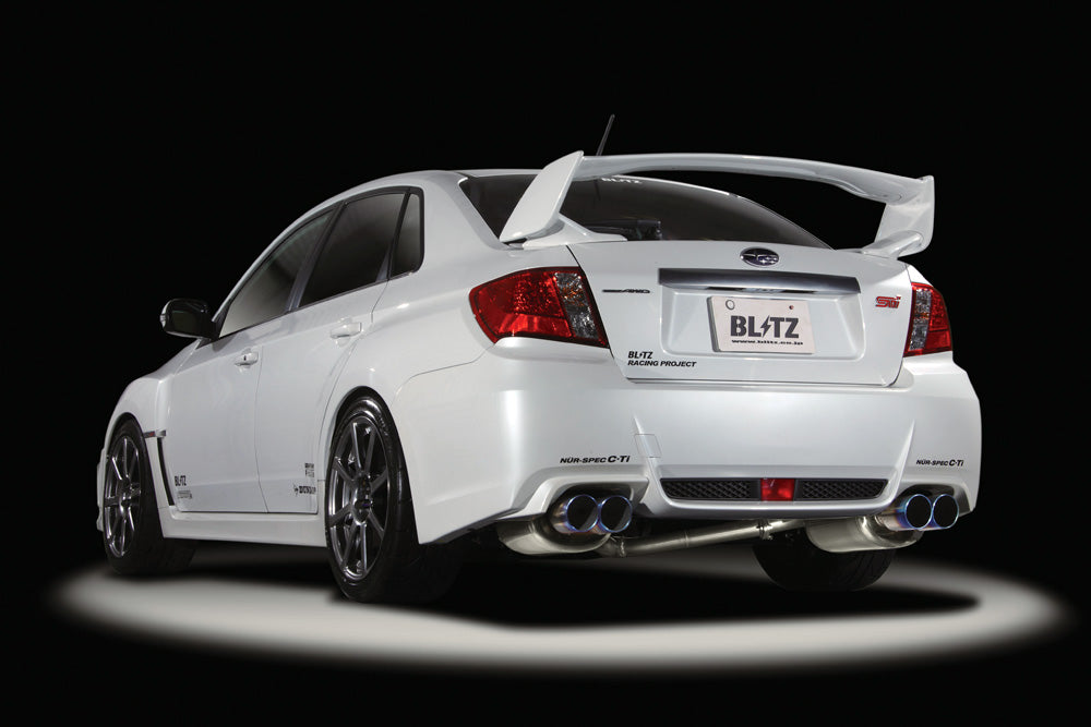 BLITZ NUR-SPEC VSR QUAD EXHAUST  For SUBARU IMPREZA GVB EJ20 62083V
