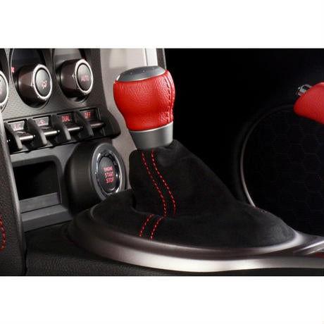 DAMD Alcantara AT Shift Boots  For TOYOTA FT86 SUBARU BRZ ZC ZN 12/4-16/7 A-S-BFT86BRZ-AT