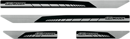 MUGEN Scuff Plate Black  For CIVIC FK8 84200-XNCD-K0S0-BK