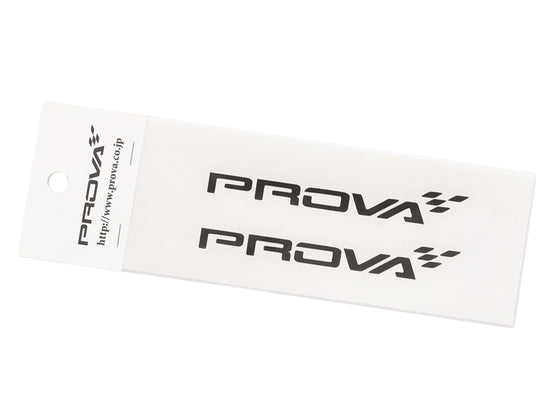 PROVA  LOGO CUT OUT STICKER S BLACK  For Multiple Fitting   95011AH0211