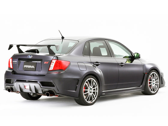 PROVA REAR RACING WING KIT BLACK  For SUBARU IMPREZA GR GV  82232DM0901