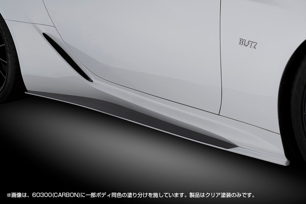 BLITZ Side Skirt BK  For LEXUS LC500h GWZ100 8GR-FXS 60292