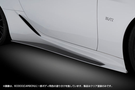 BLITZ Side Skirt CARBON  For LEXUS LC500 URZ100 2UR-GSE 60300