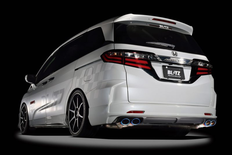 BLITZ NUR-SPEC VSR QUAD EXHAUST  For HONDA ODYSSEY RC1 K24W 62512V
