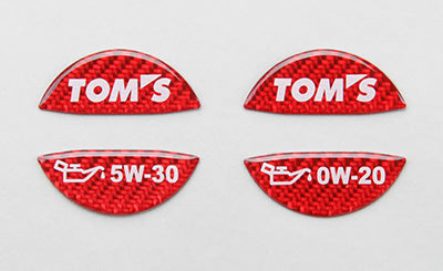 TOMS OIL FILLER CAP GARNISH FOR MULTIPLE FITTING   12181-T0020-R1